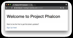 tutorial web c the complete phalcon tutorial for beginners