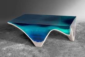 acrylic and glass coffee table elegant marble and acrylic glass table mimics the layered depth of