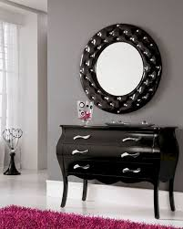 Entrance Tables And Mirrors Table Amusing Modern Console Table And Mirror Set In Black 33c1