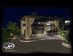 cabanas u0026 outdoor kitchens 3d designs by david