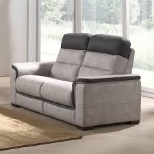 canap 2 places en tissu canape de salon 2 places gris en tissu sofamobili