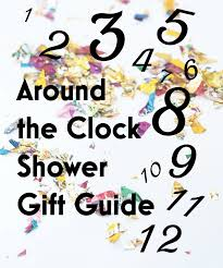 around the clock bridal shower around the clock shower gift guide ultimate bridesmaid