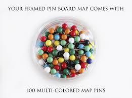 Map Pins Magellan World Map Framed Pin Board Map Geojango Maps
