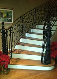 Handrail Manufacturer Wrought Iron Stair Handrails Railings Systems Houston Tx
