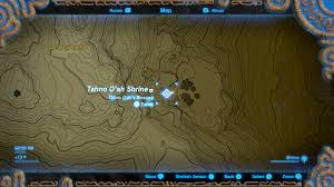 Secret Map Secret Of The Cedars Shrine Quest Walkthrough Tahno O U0027ah Shrine