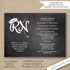rn nurse pinning ceremony invitations free shipping digital