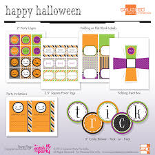 Halloween Birthday Invitations Printable Free Halloween Party Printables From Squared Party Printables