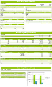 Spreadsheet For Budgeting Event Budget Template Spreadsheet Budget Templates