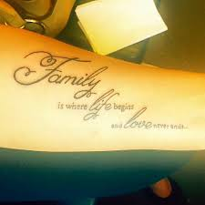 life tattoo quotes for men best quote about family tattoo by kaiser my ink life