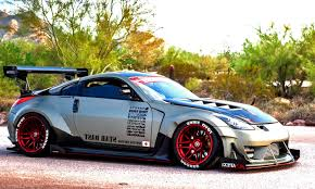 nissan 350z custom widebody nissan 350z stance wheels car such z pinterest