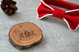 wedding gifts engraved 4 00 usd personalized wood slice gift tag for christmas