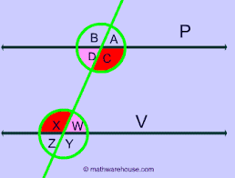 Alternate Corresponding And Interior Angles Parallel Lines A Transversal And The Angles Formed Corresponding