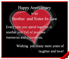 wedding quotes ecards anniversary ecard sisterinlaw www 123greetings