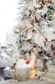 fur christmas the flocked tree secret garland revealed