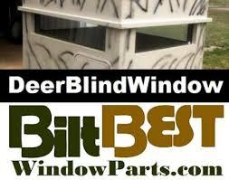 Plastic Deer Blinds Whitetail Deer Hunting Blind Windows Door Kits Track Parts Lincoln