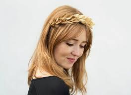 gold leaf headband gold leaf headband gold leaf crown laurel leaf gold crown