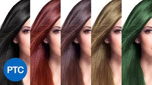 how to change hair color in photoshop including black hair to blonde