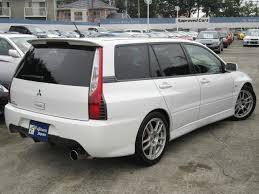 mitsubishi evo wagon редчайший универсал mitsubishi lancer evolution ix wagon 2006 года