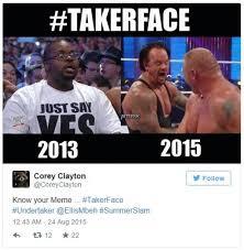 Undertaker Meme - undertaker s screaming face know your meme