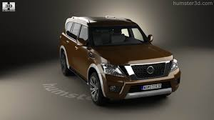 black nissan armada 360 view of nissan armada 2017 3d model hum3d store