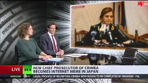 Natalia Poklonskaya Meme - list of synonyms and antonyms of the word prosecutor meme