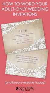 Affordable Wedding Invitations With Response Cards How To Word Your Only Wedding Invitations Ann U0027s Bridal