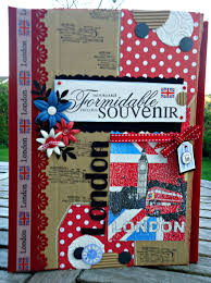 Couverture Album Photo Scrapbooking Couverture Album London Scrap Et Déco De Tables