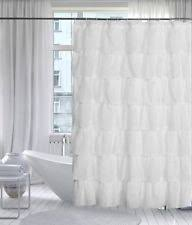 Ruffled Shower Curtains Ruffle Shower Curtain Ebay