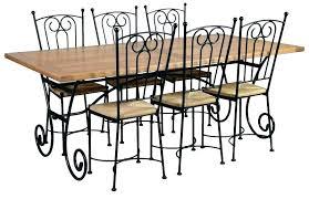 chaises fer forg chaise en fer forge et bois chaise fer forgac bois bastia chaises
