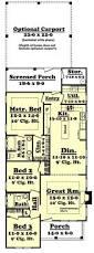 Triplex Plans by Triplex House Plans Triplex Plan With Garage 20 Ft Wide T 400