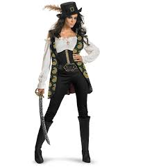 Halloween Pirate Costumes Women Pirates Caribbean Angelica Deluxe Costume