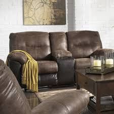 Brown Leather Reclining Sofa by Faux Leather Reclining Sofas You U0027ll Love Wayfair