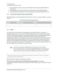 business contingency plan template contingency plan template 9