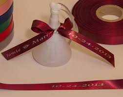 favor ribbons personalized ribbon etsy