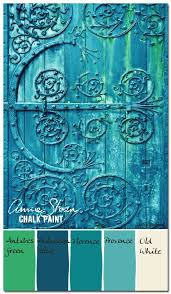 colorways with leslie stocker annie sloan chalk paint blues and