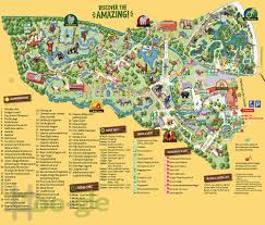 San Francisco Zoo Map by Zoo Gle Leipzig