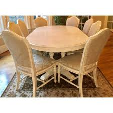 Drexel Heritage Dining Room Set Drexel Heritage Dining Table Chair Set Seats 8 Chairish
