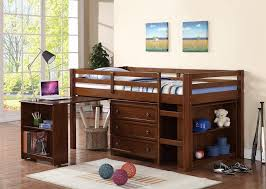 Bunk Bed With Desk And Drawers Types Of Bed With Dresser Underneath Kennecottland Dressers