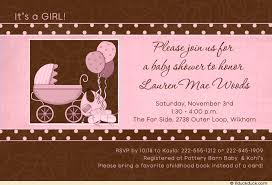 pink and brown baby shower pink and brown baby shower invitations gangcraft net