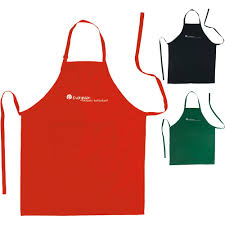 Print On Aprons Promotional Apron With Pockets With Custom Logo For 4 42 Ea
