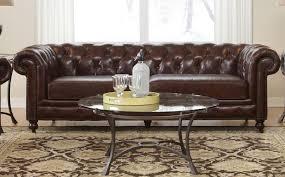 Tufted Vintage Sofa by Comfortable Leather Tufted Sofa Amazing Elegant Classic Design