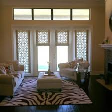 How To Make Roman Shades For French Doors - decor u0026 tips ultimate waterfall roman shades and roman shades