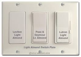 almond electrical outlets u0026 light switches for wall switch plates