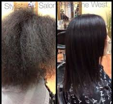 keratin treatment on black hair before and after nano keratin brazillian blow dry pinterest sök