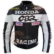 honda cbr motorbike honda cbr black motorbike motorcycle biker cowhide leather ce