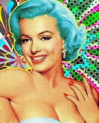 Marilyn Monroe Art 232 Best Pop Art Images On Pinterest Pop Art Art Pop And Norma Jean