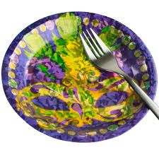 mardi gras paper 7 prismatic mardi gras mask paper plates 8 otc31 352