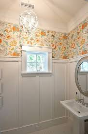 Best Designs With Thibaut Images On Pinterest Bathrooms - Designer wallpaper for bathrooms