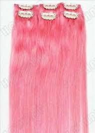pink hair extensions pink hair extensions ebay