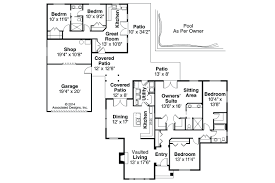 ranch house plans with open floor plan patio ideas house plans patio homes house plans for small patio